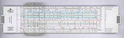 Reduced Price! 2/83N Pocket Version: Faber Castell 62/83N slide rule.