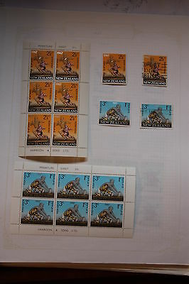 Stamps New Zealand Health 1967 Miniature Sheets Rugby