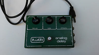 Vintage Mxr Analog Delay M-118 With R5101 Chip Free Next Day Delivery In The Uk