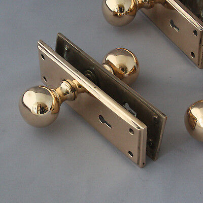 Cast Brass Antique Door Handles