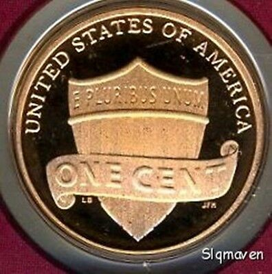 2015 S Lincoln Union Shield Cent Deep Cameo Gem Proof No Reserve