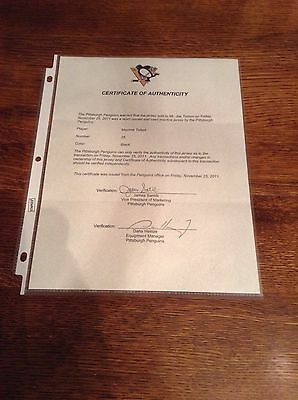 2009-10 Practice Used Hockey Jersey Maxime Talbot Of Pittsburgh Penguins