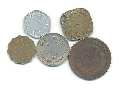 Very Nice Rare.mixed Lot Of India Coins.very Collectable.a.189