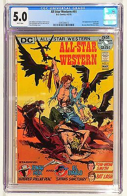 All-Star Western 11 DC Comic 2nd Appearance of Jonah Hex