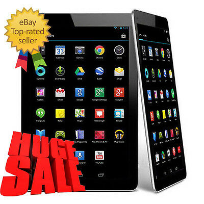 """2017 9"""" Inch Android 4.4 Quad Core Capacitive Screen WIFI Bluetooth Tablet PC UK"""