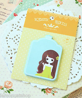 Romantic Princess Sticky Notes 01 kawaii cartoon girl shapes planner note memo
