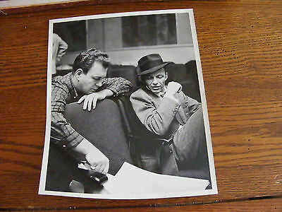 1950's Original Photo FRANK SINATRA Capitol Records Promo Stamped on Back