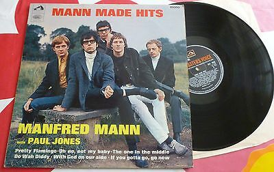 Manfred Mann: Mann Made Hits HMV CLP 3559 Mono 3040/1-2 Paul Jones 1966