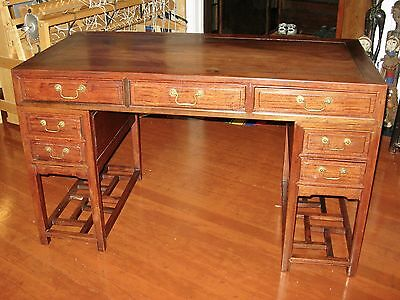 Antique Chinese Wooden Desk
