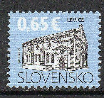 Slovakia MNH 2014 Cultural Heritage of Slovakia - Synagogue in Levice