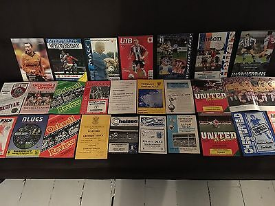Collection of 1960s + Programmes, great Selection all Listed.