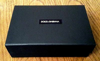 D&G Dolce and Gabbana Black Small Storage/ Gift box NEW