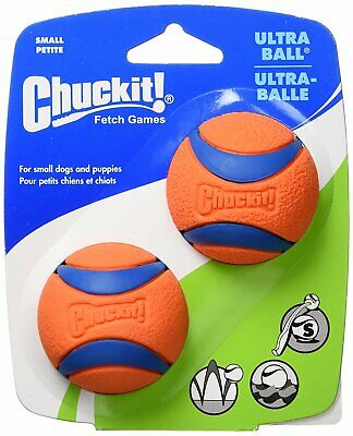 Chuckit! Dog Fetch Toy ULTRA BALL Durable Rubber Fits Launcher SMALL