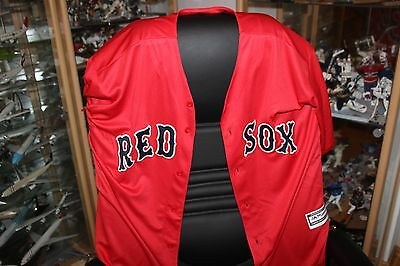 MLB Boston Red Sox David Ortiz #34 Majestic Trikot Jersey Größe L Neu rot