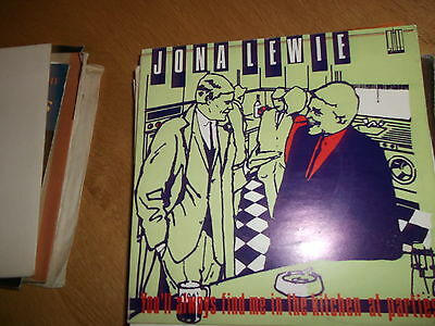 Jona Lewie Youll Always Find Me In The Kitchen At Parties  Vinyl Single