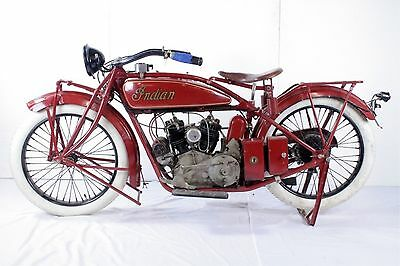 1924 Indian  1924 INDIAN SCOUT MOTORCYCLE