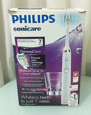 Philips Sonicare Diamond Clean 7 Series Electric Toothbrush - White