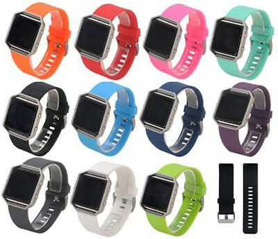 Replacement Strap for Fitbit Blaze Wristband Band *UK* Secure Metal Buckle