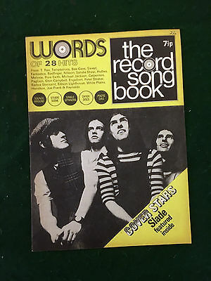 1970's Record Song Book