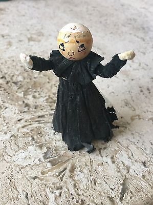 Vintage Japan Christmas Ornament Monk, Ghost?