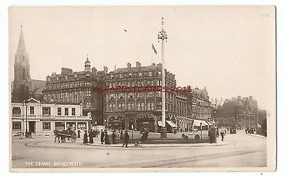 Dorset Bournemouth The Square Real Photo Vintage Postcard 8.12
