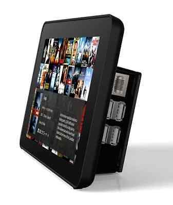RS Premium Touchscreen Case for Raspberry Pi and LCD Display 7-Inch - Black