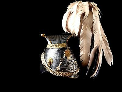 Very Nice British Shapska Lancer Helmet Complete With Plume