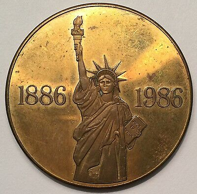 Statue of Liberty Centenary medal - Blank & made in England
