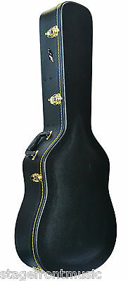 Ap Dreadnought Acoustic Guitar Hard Case Good Quality Extra Heavy Duty Hardcase