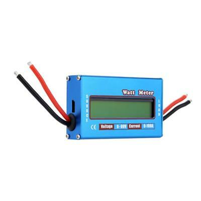 Digital 100A/60V Power Battery Tester Watt Meter Dynamometer Energy Voltage