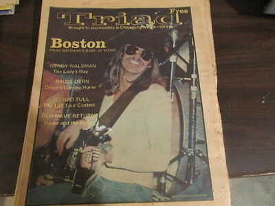 Triad vol 7 #7 Boston Mitch Ryderand the Byrds- Jethro Tull Tour Contest & More