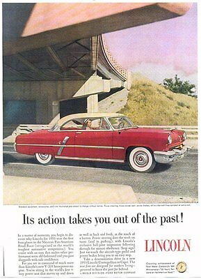 1953 Lincoln - 8X10 Reproduction Photo