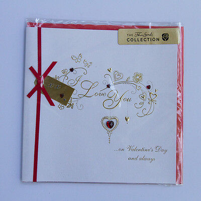 *NEW* *SEALED* Valentines Day Card - I Love You  - The John Sands Collection