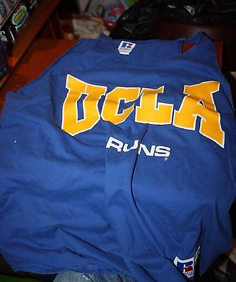 MEN'S VINTAGE RUSSELL ATHLETIC UCLA basketball jersey Large