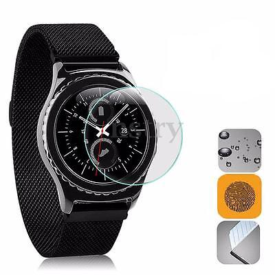 Tempered Glass Screen Protector Transparent Film Guard For Samsung Gear S3 Watch