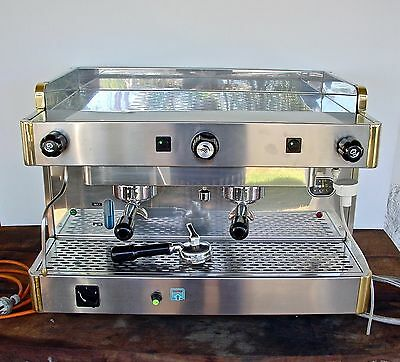 La Rocca Expres SA - 2 Group Commercial/ Home Coffee Machine Art Deco Style