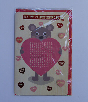 *NEW* *SEALED* Valentines Day Card - Happy Valentine's Day  - by Card Couture
