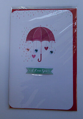 *NEW* *SEALED* Valentines Day Card - I love you - by Card Couture