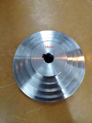 STEP PULLEY 5 LAYERS shaft 14mm lathe use
