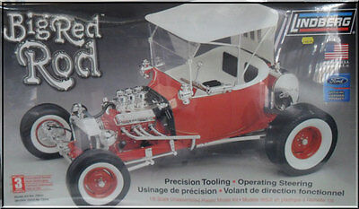 Lindberg Big Red Rod 1:8 Scale Model Kit Made in the USA