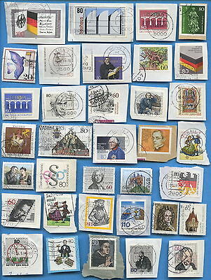Germany postage stamps 1980-1989 150 different, most on paper [sta1760]