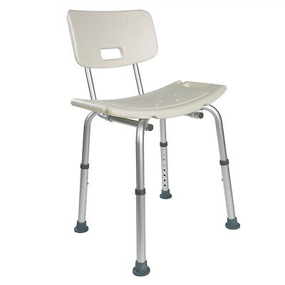Nice Shower Seat Stool Chair Adjustable Height Mobility Disability Aid Care Aid