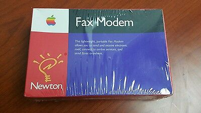 Collectible New Sealed Apple Computer Fax Modem for Newton MessagePad H0005ZA