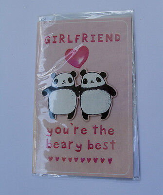 *NEW* *SEALED* Valentines Day Card - Girlfriend, you're the beary best