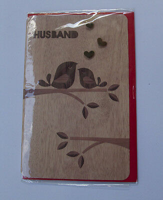 *NEW* *SEALED* Valentines Day Card - Husband - Card Couture cards