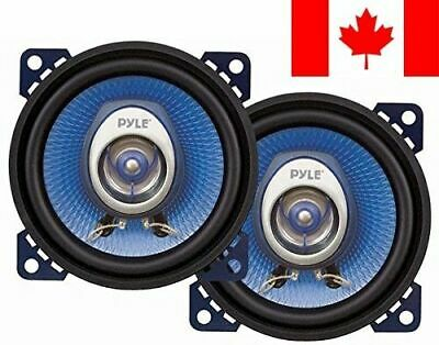 Pyle PL42BL 4-Inch 180W Two-Way Speakers Pair