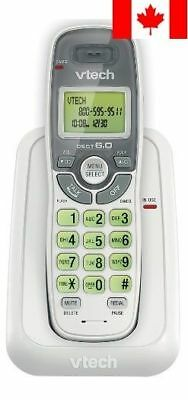 Vtech Dect 6.0 Single Handset Cordless Phone with Caller ID, Green Backlit Ke...
