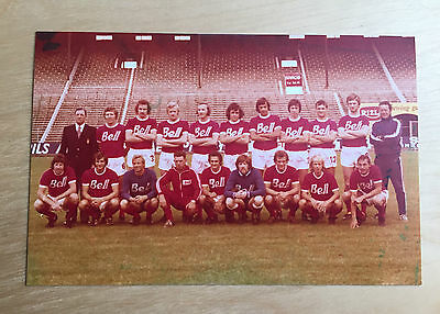 ROYAL ANTWERP FC, Belgium : Team Photograph - Colour 1976 / 1977