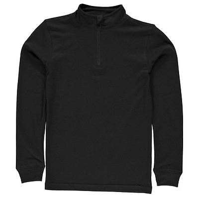 Campri Childrens Thermal Baselayer Unisex Ventilation 1/4 Zipped Clothing