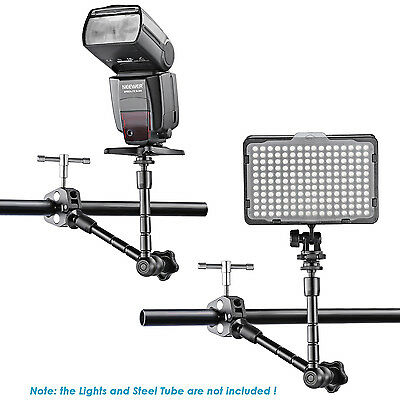 """Neewer 11"""" Magic Arm and Crab Clip for DSLR Camera Rig,LCD Monitor"""